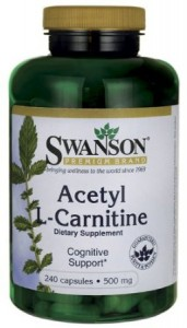 Acetyl L-Carnitine 500 mg 240 Caps