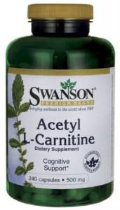 Acetyl L-Carnitine 500 mg 240 Caps