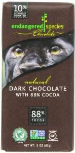 Endangered Species Panther, Dark Chocolate