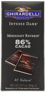 Ghirardelli Chocolate Intense Dark Bar, Midnight Reverie