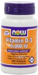 NOW Foods Vitamin D3 5000