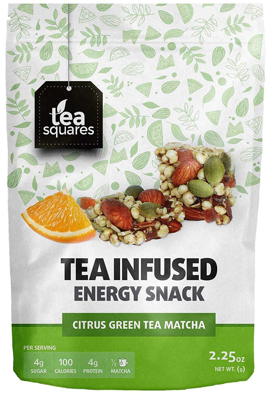 Caffeinated Tea Infused Energy Bites