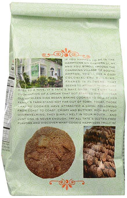 Gluten Free Ginger Zinger Cookies back
