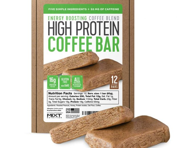 High Protein Coffee Bar
