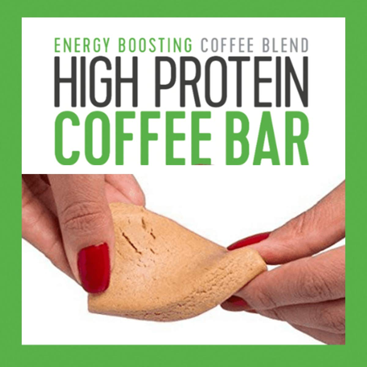 High Protein Coffee Bar d