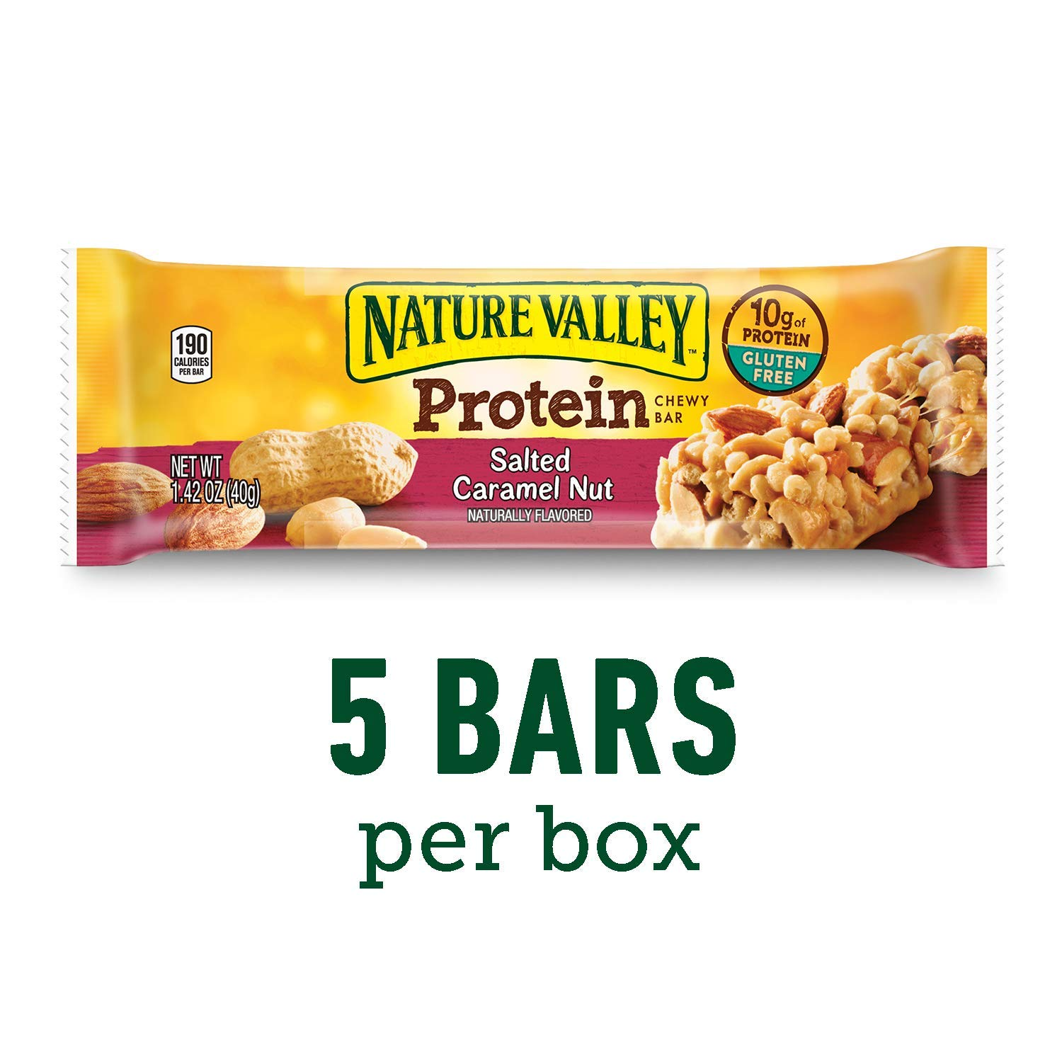 Nature Valley Protein Chewy Bars 5 bars
