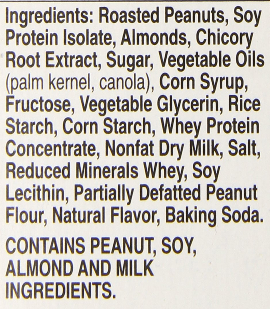 Nature Valley Protein Chewy Bars ingredients