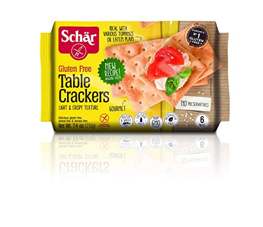 New Recipe Table Crackers