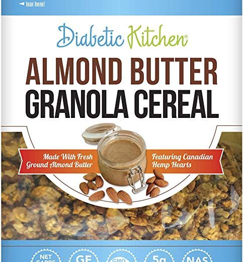 Almond Butter Granola Cereal