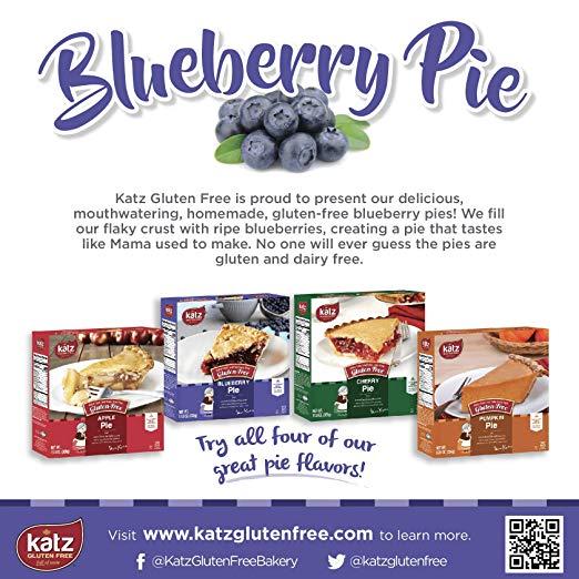 Blueberry Pie background