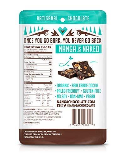 Chocolate Bark backside