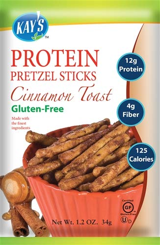 Cinnamon Toast Pretzel Sticks