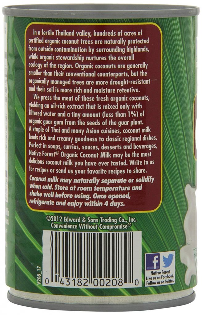 Classic Coconut Milk spe