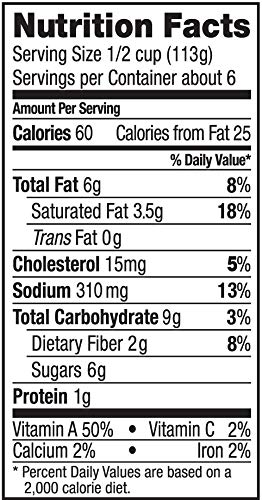 Cucina Antica nutrition facts