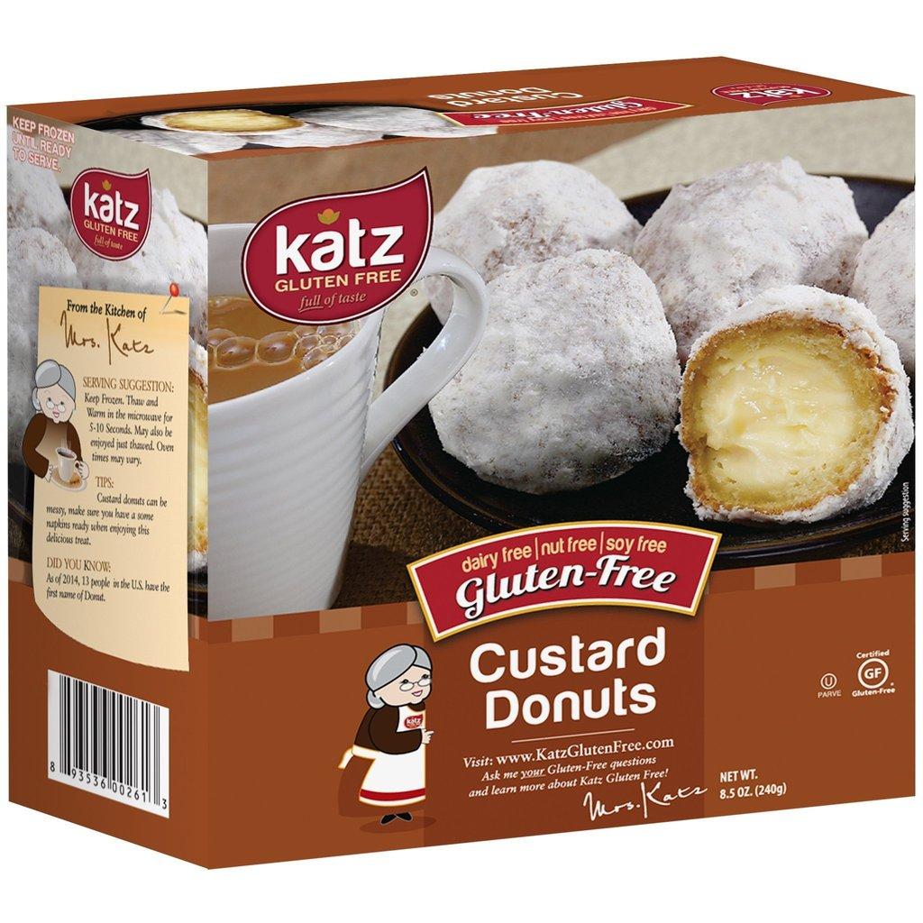 Custard Donuts