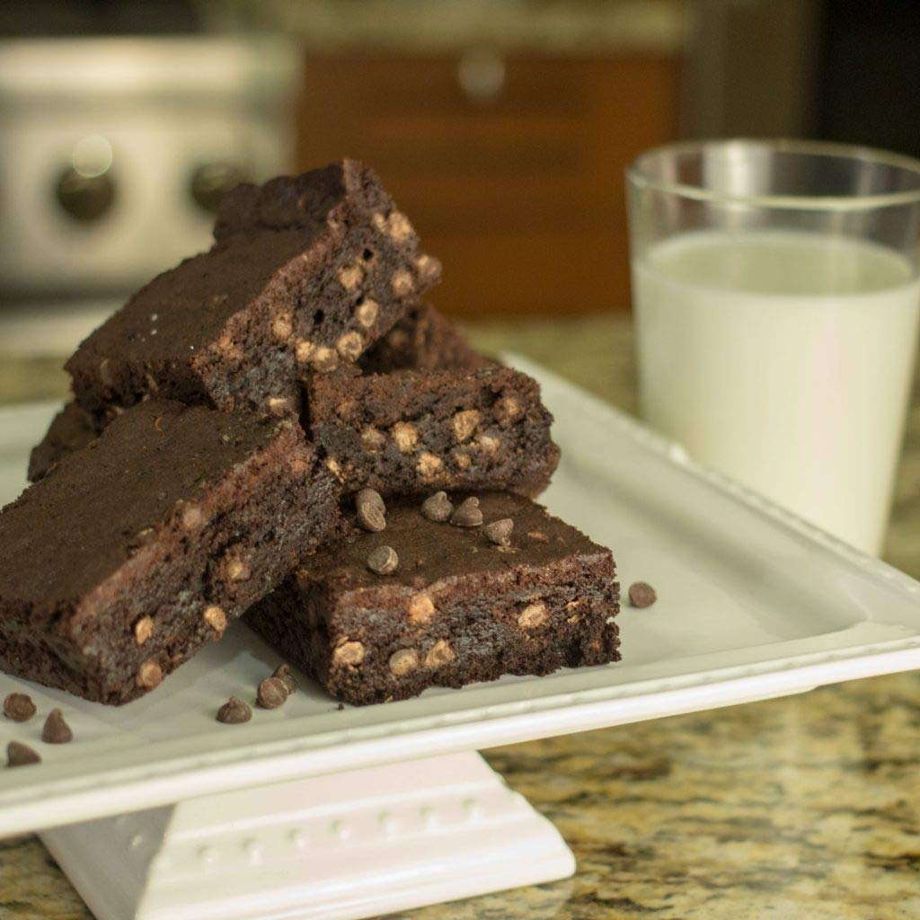 Delectable Brownie Mix Gluten Free brownie pieces