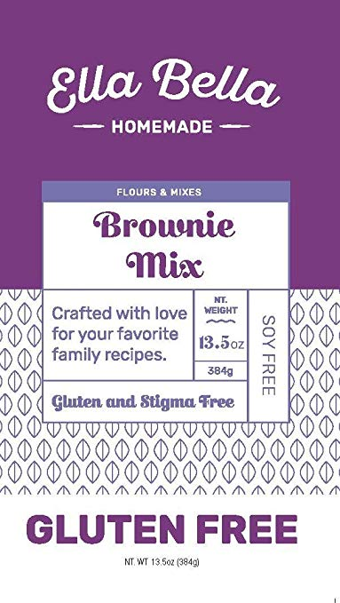 Delectable Brownie Mix Gluten Free front pack
