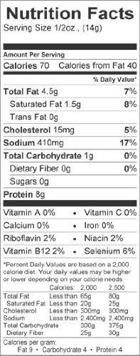 Fried Pork Rinds nutrition facts