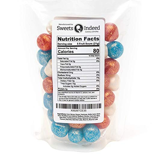 Fruit Chews nutrition facts