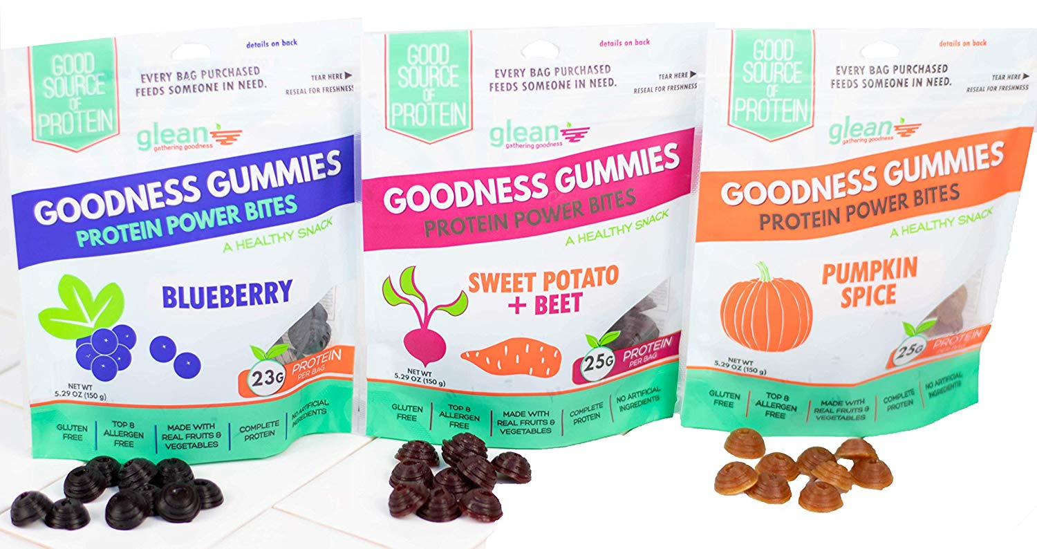 Glean Goodness Gummies flavors