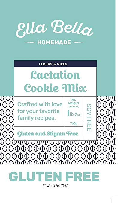 Gluten Free Lactation Cookie Mix 1