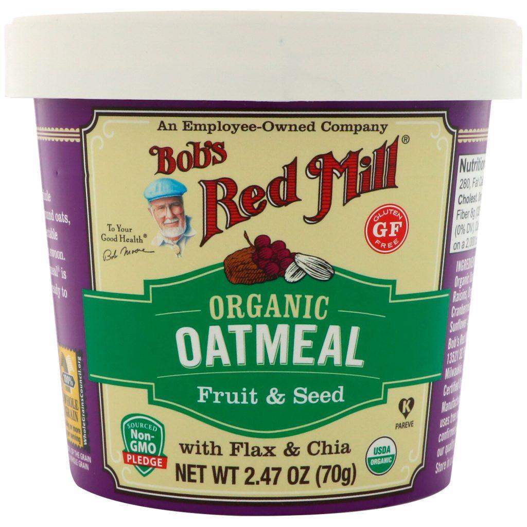 Gluten Free Oatmeal Cup