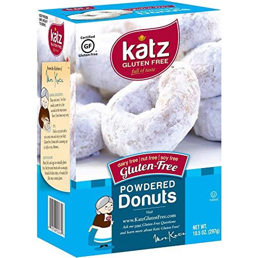 Gluten Free Powered Donuts