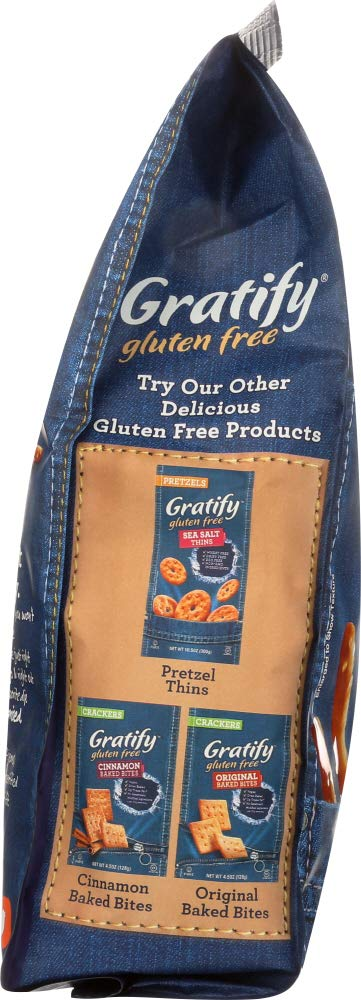 Gluten Free Pretzels Sea Salt Sticks pack