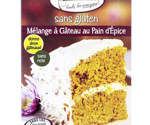 Gluten Free Spice Cake Mix