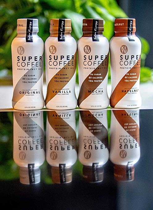 Gluten Free Vanila Super Coffee packing