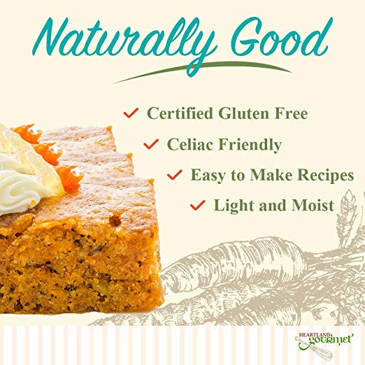 Gourmet Carrot Cake Mix gluen free