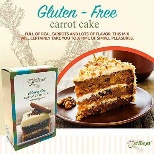 Gourmet Carrot Cake Mix image