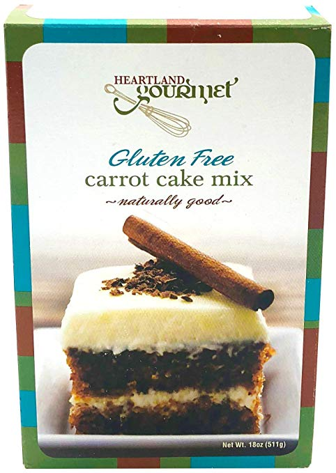 Gourmet Carrot Cake Mix