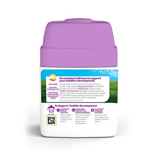 Happy Tot Organic Toddler Development Milk packing