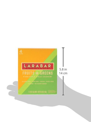 Larabar Gluten Free Bar size