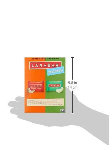 Larabar Minis Gluten Free Bar size