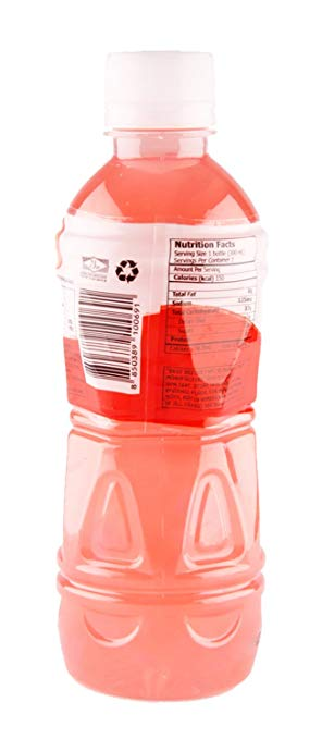 Mogu Strawberry Nata nutrition