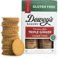 Moravian Style Triple Ginger Cookie Thins