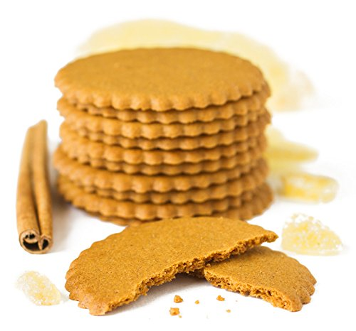 Moravian Style Triple Ginger Cookie Thins image