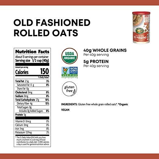 Oat Rolls nutrition facts