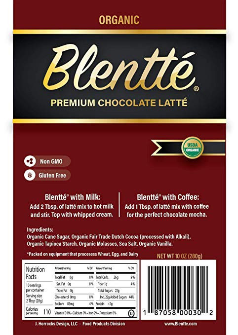 Organic Chocolate Latté Mix nut