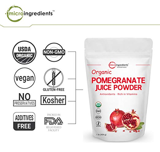 Organic Pomegranate Juice Powder non gmo