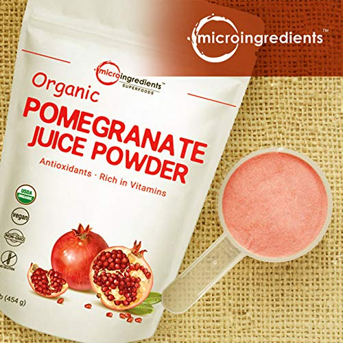 Organic Pomegranate Juice Powder view