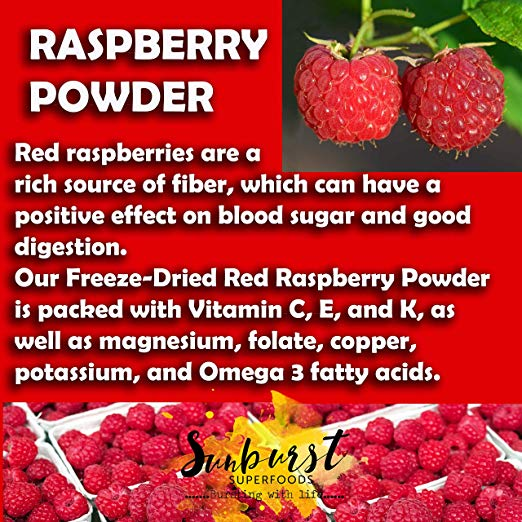 Organic Red Raspberry Powder det