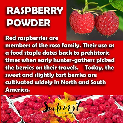 Organic Red Raspberry Powder details
