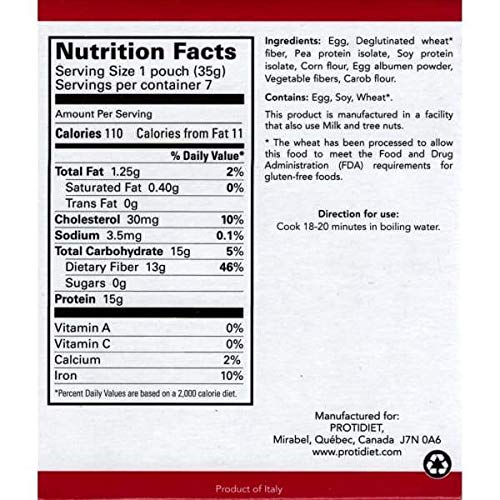 Penne Pasta nutrition facts