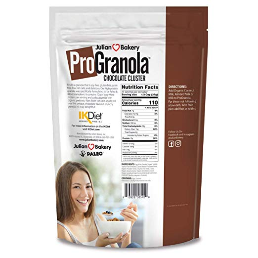 ProGranola Cereal nutrition facts