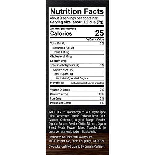 Puffs Cereal Snack nutrition facts