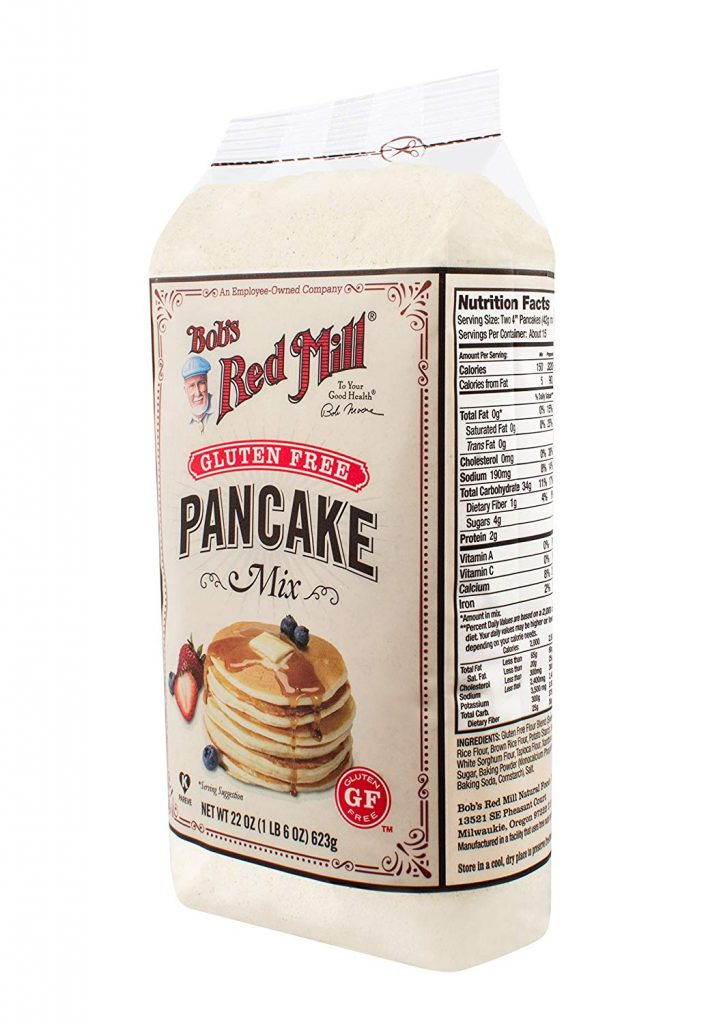 Red Mill Pancake Mix pckg