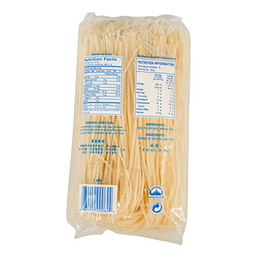 Rice Stick Noodles nutrition facts